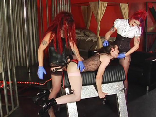 Academy For Sissies vol 3 Femdom and Strapon