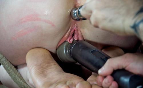 Super wet hole in BDSM