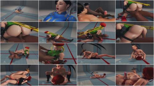 Street Fighter Vol. V - Fuck Me Volume 1 3D Porno