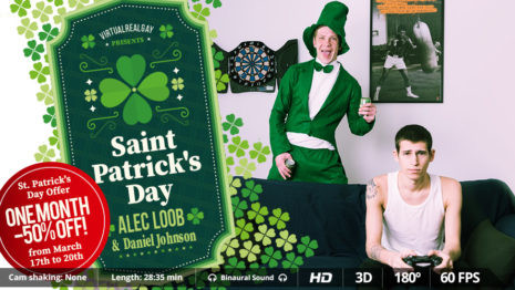 Virtual Real Gay - Saint Patrick's day (Android/iPhone) Gay 3D stereo