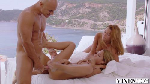 Apolonia Lapiedra & Agatha Vega - Power Corrupts Threesome
