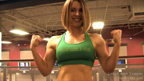 Leigh Ann Yeager Female Muscle