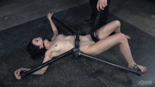 Hard tying, castigation and spanking for lustful slavegirl part 1