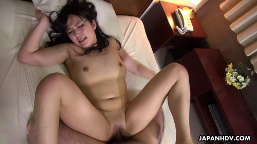 Marina Aoyama goes to a hotel to engulf and fuck a disgruntled client