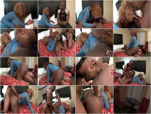 Ebony BBW is big lover of rough sex