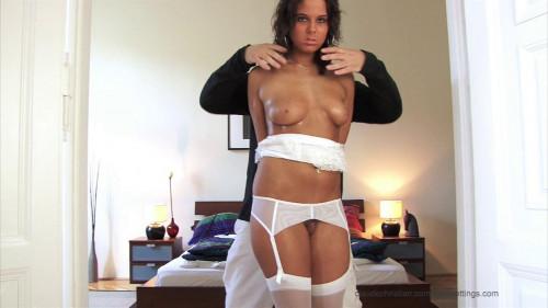Melanie Fastened Acquires Undressed - HD 720p
