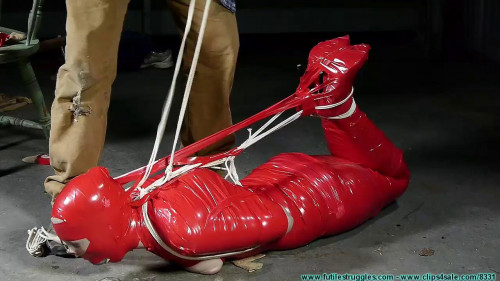 Mummification BDSM Latex