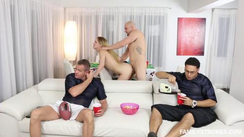 FStrokes - Super Home Young Sluts part113 Public sex
