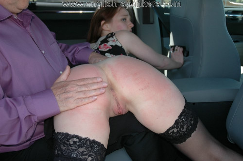 English-spankers - Cheating the Taxi