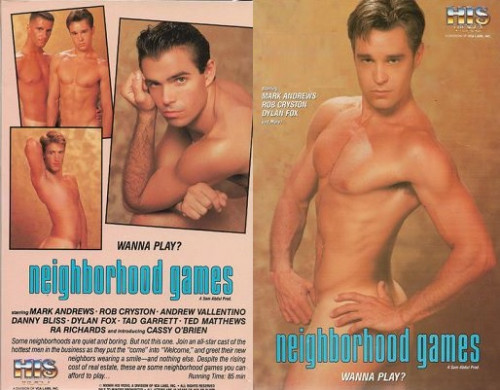 Neighborhood Games - Mark Andrews, Rob Cryston, Dylan Fox (1993) Gay Retro