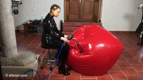 Alterpic - Engulfed by a Huge Balloon part 1