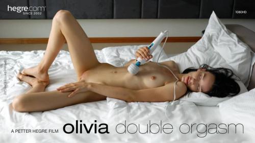 Olivia - Double Orgasm Masturbation