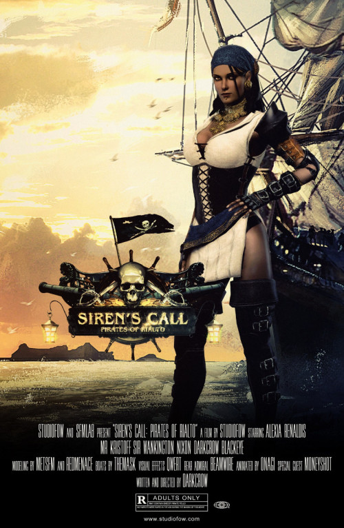 Sirens Call 3D Porno