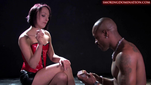 Femdom and Fetish Smoking part 3 Femdom and Strapon