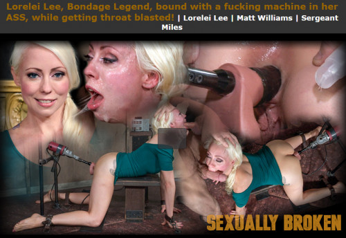 Sexuallybroken – Dec 09, 2016 – Lorelei Lee, Bondage Legend