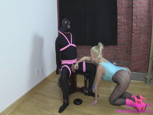 Manually Milked and Fed Cum Femdom and Strapon
