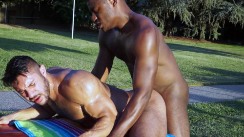 ns - Pool Mates: Adonis Couverture & Seth Santoro Gay Clips