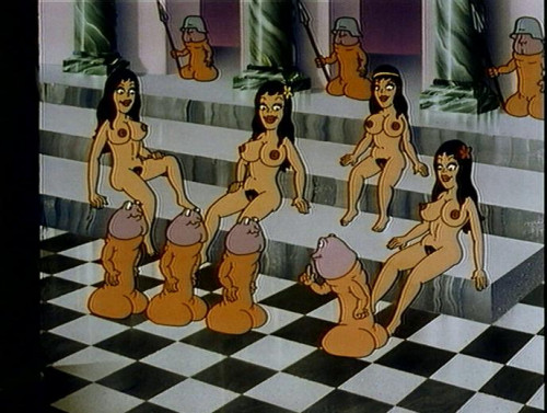 Chess game with penises Cartoon Porn