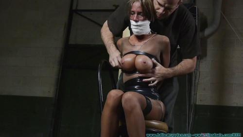 Armani Knight Hogtaped - Part 1 BDSM Latex