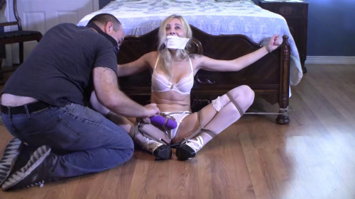 Bound to the Bed and Vibrated