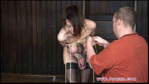 Toaxxx - (tx299) More Tit Punishment for Slave Eva