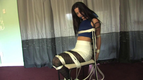 Watch Tilly being tied up BDSM