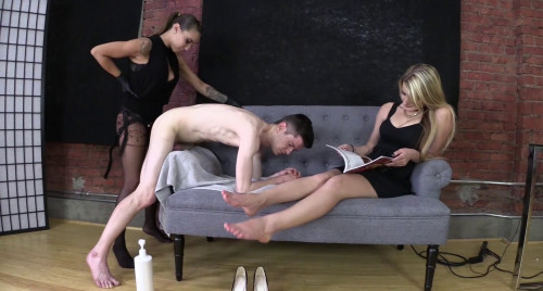 Danni Bent Over And Fucked For Not Following The Rules Femdom and Strapon