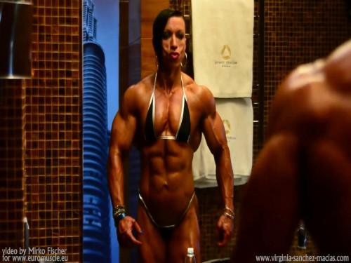 Virginia Sanchez Female Muscle
