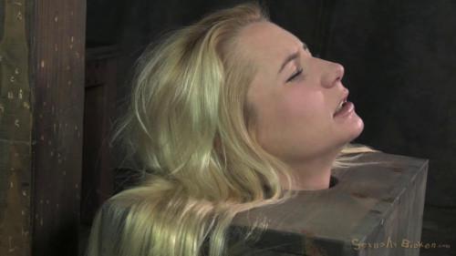 Tiny Odette Delacroix turned into blowjob box BDSM