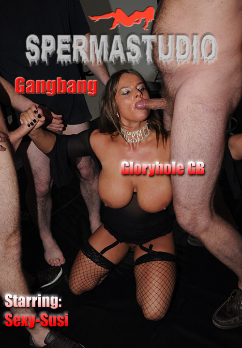 Sexy Gloryhole Gangbang - HD