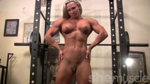 Touchably Statuesque Female Muscle