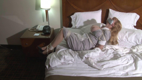 Big-Boob Hotel Maid Lorelei Hopping in Bondage BDSM