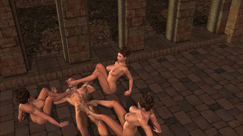Fantasy and Fetish - War of the mages 3D Porno
