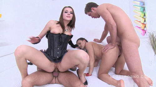 Best sluts Billy Star & Victoria Daniels only anal fucking 0% pussy Sex Orgy