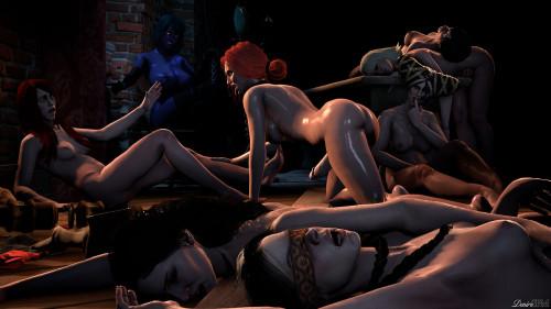 Corruption Of The Lodge - Full HD 1080p 3D Porno