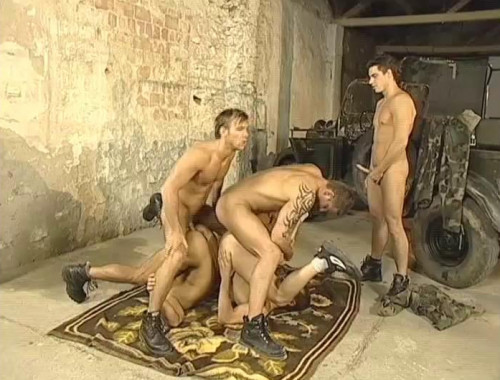 Young Commandos In Raw Orgies