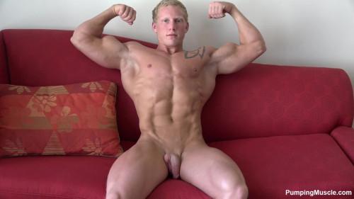 Pumping Muscle Ryan R Photoshoot 12 HD