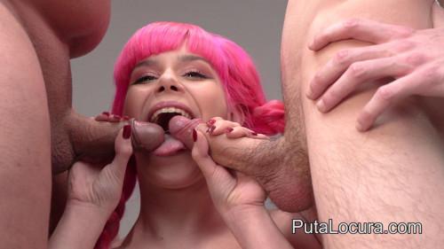 Welcome Bukkake Party For Pretty Pink Charlotte Bukkake