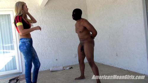 Punished For Masturbating Femdom and Strapon