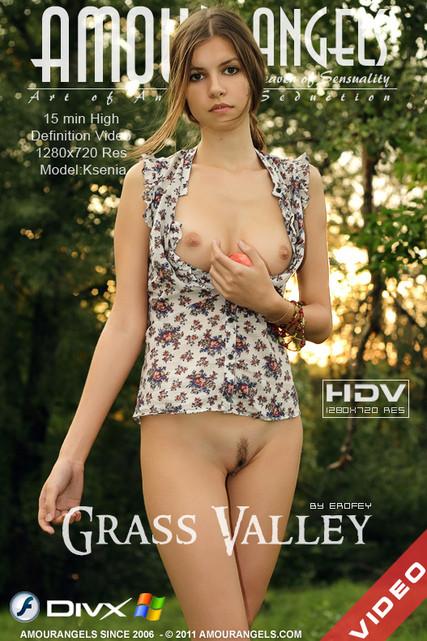 AmourAngels - Grass valley - Ksenia - (by erofey) Erotic&Softcore