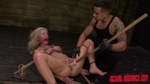 Layla Price Begs for Sybian, Rope Bondage, Rough Sex And Deepthroat BJ (2015)