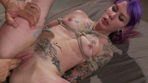 Young, tattooed slut gets fucked in all of her holes(Derrick Pierce, Krysta Kaos)