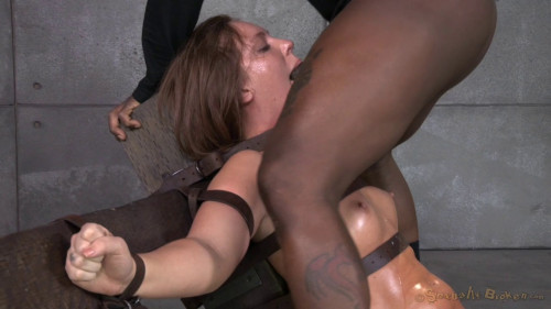 Maddy O'Reilly Gets Restrained And Throatboarded BDSM
