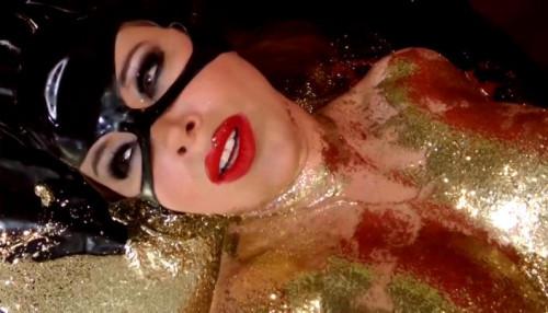Anastasia Pierce - Catwoman vs Harley Quinn BDSM Latex