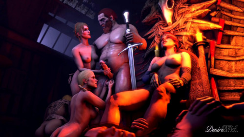 The Queens Era 3D Porn