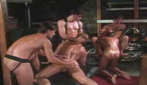 Anal Collection With Chad Douglas Gay Retro