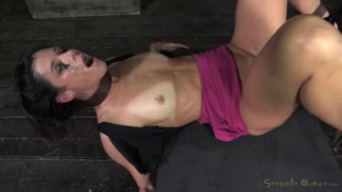 Milf India Summer takes on 2 guys, Extreme deepthroating BDSM
