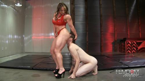Brandi Mae Alpha Muscle Goddess Female Muscle