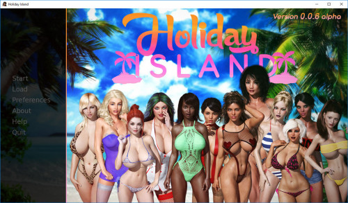 Holiday Island by Darkhound Alpha 0.0.6 - fix2 included