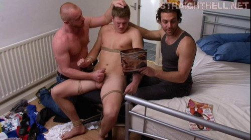 Noah - Tied up in his sleep, then undressed exposed